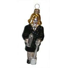 Female Funeral Director Ornament