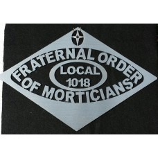 "Fraternal Order of Morticians 16"" x 10"""